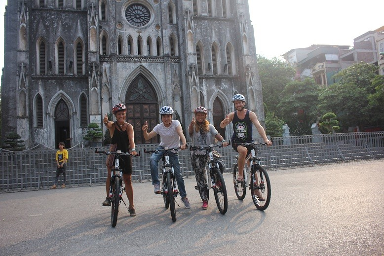 Image result for hanoi cycling city
