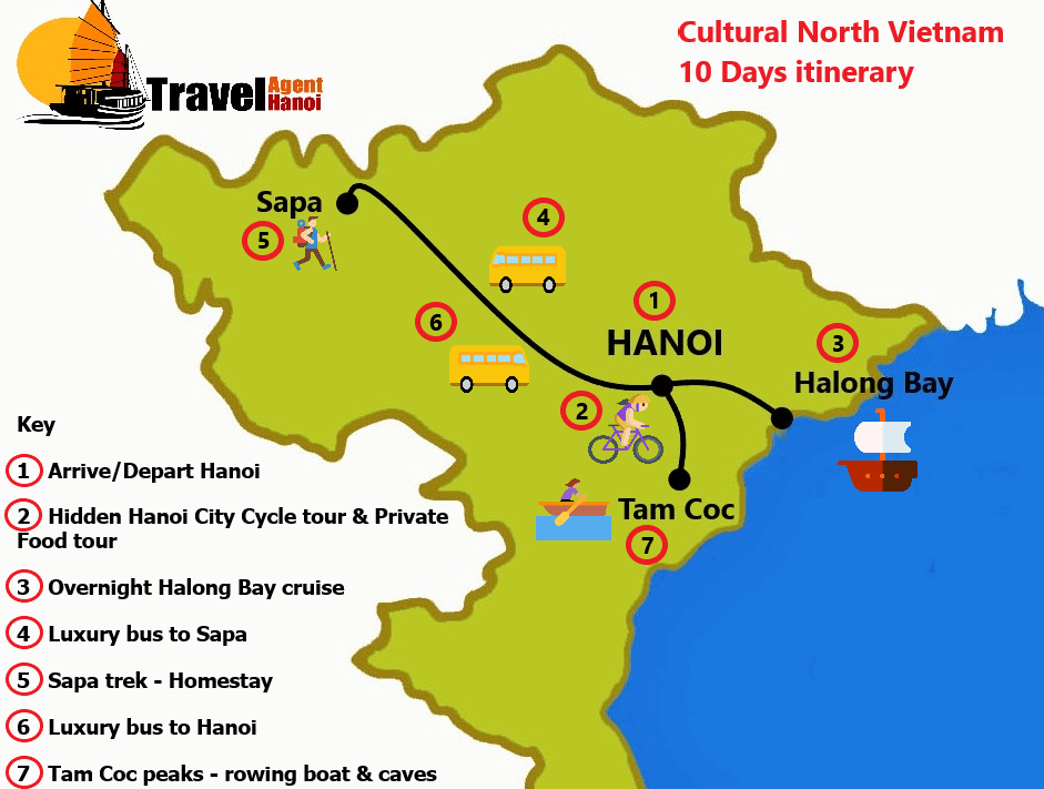 Travel Agent Hanoi   Cultural North Vietnam for a 10 day
